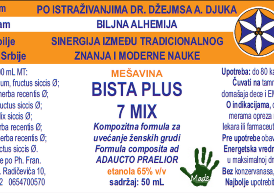 BISTA PLUS 7 MIX