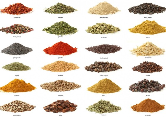 24 spices